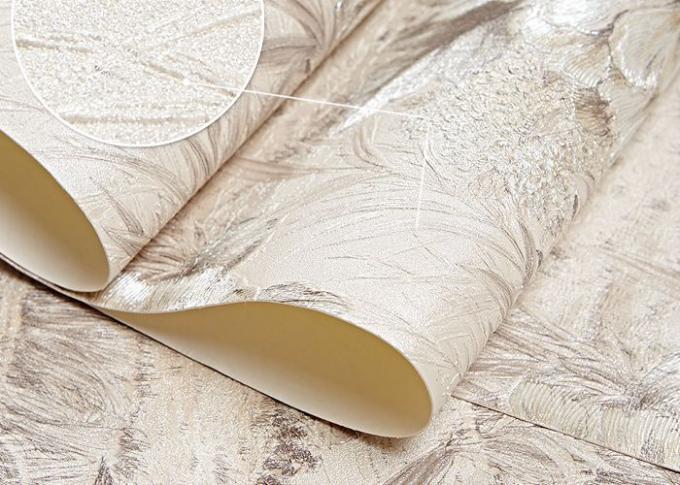 Feuchtigkeitsfeste Rustikale Blumentapete Cremefarben Für Wohnzimmer,  Schlafzimmer
