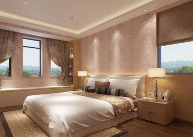 Entfernbares asiatisches angesporntes Tapeten-wasserdichtes Vinylmaterial für Wohnzimmer