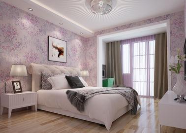 Schöne Blumenmuster-Landhausstil-Tapete geprägt für Schlafzimmer 0.53*10M