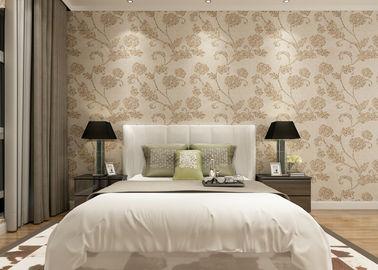 Kakifarbig Blumen Tapete für Wand-Dekoration/PVC Wandverkleidungen