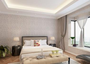 Schlafzimmer PVC-Landhausstil-Tapete mit symmetrischem Blumenmuster