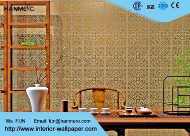 Oberer Bereich, der Schlafzimmer-modernen entfernbaren Tapete nicht gesponnenen Wallcovering bronziert