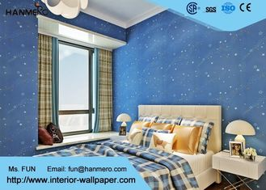 Tiefes Blau scherzt die giftige Schlafzimmer-Tapete nicht, das Schlafzimmer-Tapete der Kinder