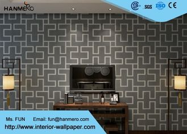 Ziegelstein-Effekt-Tapete PVCs 3D für Wohnzimmer, gefälschte Ziegelstein-Tapete mit prägeartiger Oberfläche