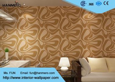 Europäische Art-Tapeten-nicht gesponnene moderne entfernbare Tapete für Wohnzimmer
