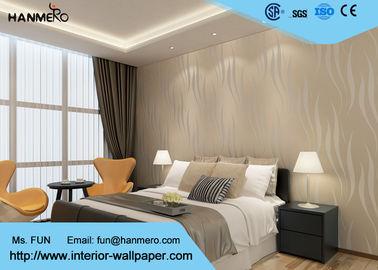Strippable moderne entfernbare Tapeten-Tapete für Schlafzimmer-Wände, beige Farbe