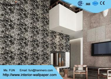 Entfernbare Effekt-Tapete des Ziegelstein-3D/zeitgenössische Wandverkleidungen mit PVC tapezieren