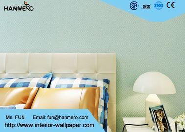 Grüne moderne Wohnzimmer-Tapete, Kindermoderne Tapete mit festem Muster