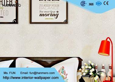 Die Tapete der weiße Blumendruckkinderschlafzimmer-Tapeten-gute Breathable moderne Kinder