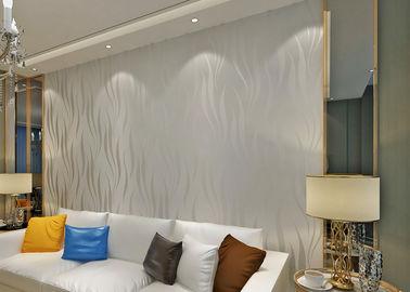 moderne entfernbare Tapete der Schalen-3D und des Stockes waschbar für Büro, Strippable Art