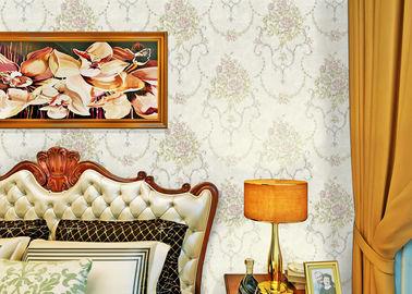 Schalldichte moderne entfernbare Tapete/zeitgenössische Badezimmer-Tapete mit beige Farbe