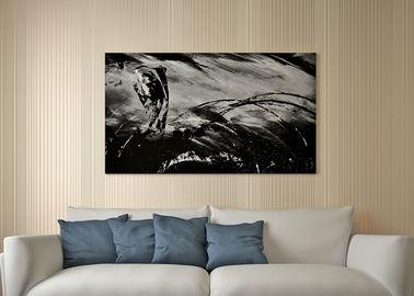 Leistungsfähige gestreifte entfernbare moderne Luxustapete für Wohnzimmer, nicht gesponnenes Papier