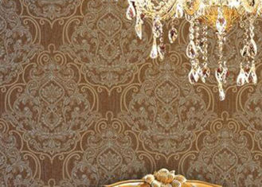 Prägeartige 1.06m koreanische Tapete/schalldichtes Wohnzimmer-moderne Tapete, Landhausstil