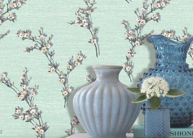 Grüner Blatt-Muster nicht gesponnener Wallcovering/Scharen Tapete nach Hause, verzierend
