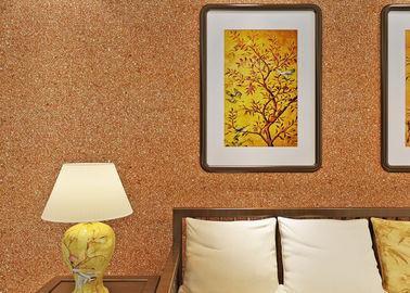 0.53*10m Glimmer-Wandverkleidung/nicht- gesponnene Wohnzimmer-moderne Tapeten-Gelb-Farbe