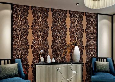Wasserdichte Samt-Luxusmenge tapezieren für Wohnzimmer, Bescheinigung SGS CSA