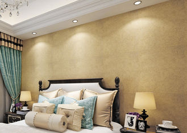 Goldmultifilament-nichtgewebte Wasser-beständige Tapete/Strippable Wand-Papier