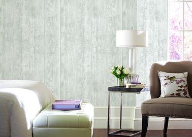 Schalldämpfende berühmte moderne Tapete kopiert hölzerne Farbe nach Hause verzieren
