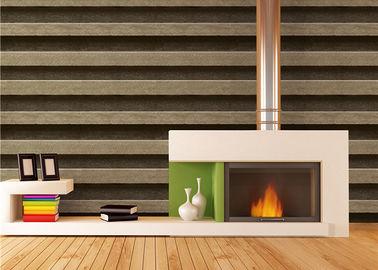 Klassische Art streifte Tapeten-Haus-Dekor PVCs 3d für Küche