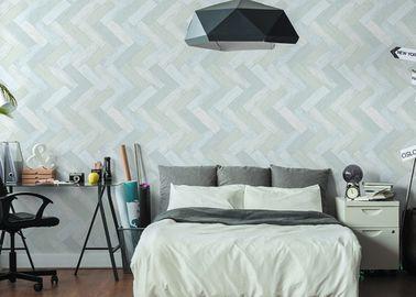 Waschbare moderne Wandverkleidungs-PVC prägeartige Luxussimulation des Bambusses
