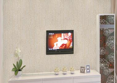 kurze Art-zeitgenössisches Wandverkleidungs-geometrisches Drucken 0.53*10M des Effekt-3D für Wohnzimmer
