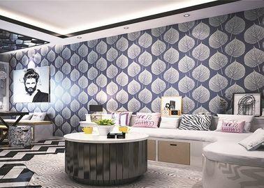 Einfache und elegante prägeartige abstrakte Frühlings-Farbasiatische angespornte Tapete Fernsehsofa-Wand mit großen Wandbildern