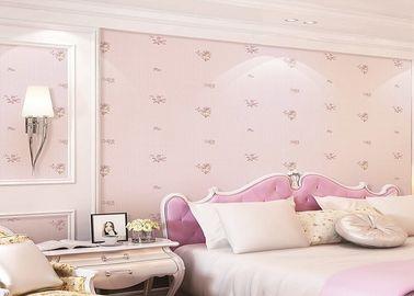 Reizender und traumhafter Rosen-Zeitgenosse scherzt Schlafzimmer-Tapete mit Romatic-Art