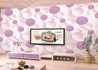 Farbwärmedämmung scherzt schaum-Aufkleber-Tapete der Schlafzimmer-Tapeten-Dekorations-DIY Blumen