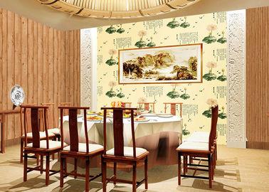 Chinesische Art-Lotus-Tiermuster-zeitgenössische Wandverkleidung für Raum-/Restaurant-Dekoration