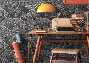 Steindruckchinesische Art-waschbare Vinyltapete für Innenraum-Dekoration