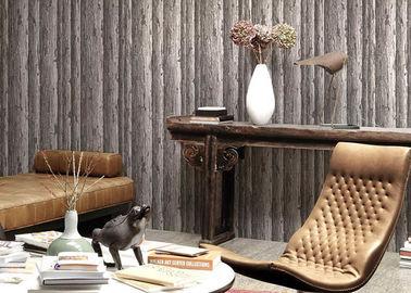 Umweltfreundliche natürliche Art-dauerhafte waschbare Vinyltapete mit altem Baum-Muster
