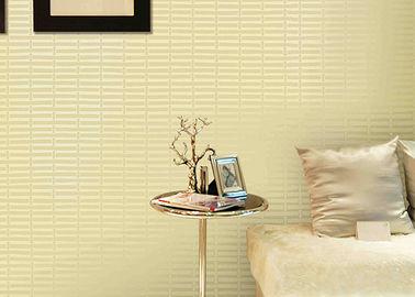 Geometrische Druckmoderne entfernbare Tapete pVCs für Wohnzimmer
