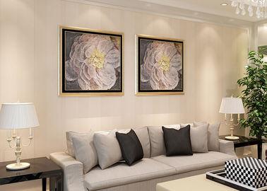 Streifen kopieren moderne entfernbare Wohnzimmer-Tapete mit Effekt der Shad-3D