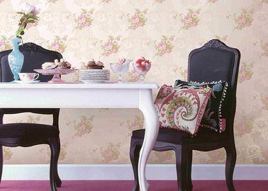 Umweltfreundliche prägeartige Blumen-Muster-Tapeten-Inneneinrichtungs-Wandverkleidung