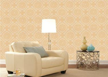 Prägeartige europäische Art-Tapeten-Wohnzimmer Klimamit Blumenwallcoverings
