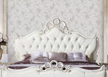 Feuchtigkeitsbeständige europäische Art-Tapete dauerhafte PVC-Tapete für Bett-Raum/Wohnzimmer