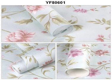 Umweltfreundliche kundenspezifische Strippable selbstklebende Tapete für Sofa-Hintergrund