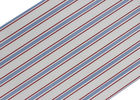 Removable Modern Removable Wallpaper / Vertical Striped Wallpaper Dark Blue And Red Color