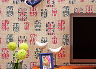 Modern Lounge Wallpaper / Modern Self Adhesive Wallpaper With 3D Rotary Printing