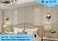 China Weiße Wohnzimmer-Tapete/moderne Hausausstattungs-Tapete, rustikales Blumen usine