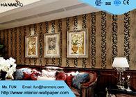 China Haushalt Fernsehhintergrund-klassische Entwurfs-Tapete mit Samt-Wandverkleidung, europäische Art usine