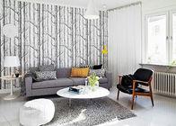 China Günstiges Suppengrün-zeitgenössische Wandverkleidungen/Tapete für Wohnzimmer 0.53*10M usine