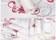 China Weißer Schaum-selbstklebende Tapeten-Wasser-beständige mit Blumentapete für Verwaltung usine