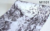 China Marmor-selbstklebende Tapete des Effekt-3D, Inneneinrichtungs-Tapete 0.45*10m usine