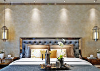 Contemporary Leather Soundproof Wall Covering / Home Decoration Wallpaper