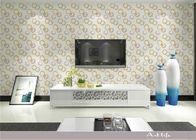 Fallender Partikel kreisen Muster-Wohnzimmer-Tapete mit nicht gesponnener Papierbasis ein