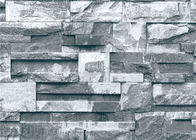 New Chinese Style 3D Brick Effect Wallpaper Living Room Wall Covering 0.53*10M