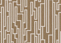 3D Effect Concise Style Contemporary Wall Covering Geometric Printing 0.53*10M For Living Room