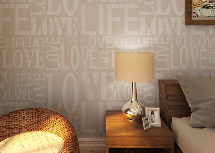 0.53*10M Moderne Vliesstoff Tapete, Mode LOVE Englische Buchstaben Tapete