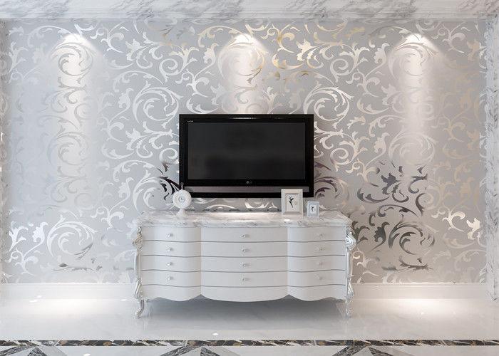 3D Entwerfen Europäische Moderne Tapete Für Schlafzimmer Fernsehhintergrund